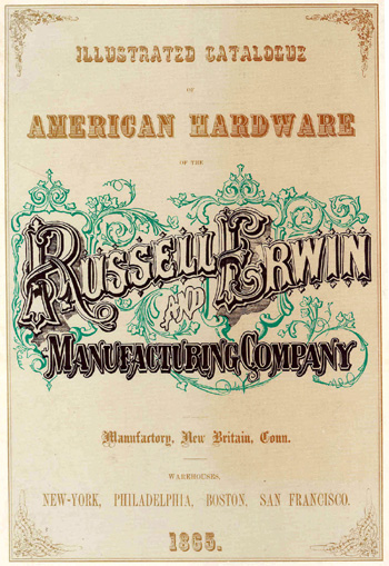 Front cover of the Russell & Erwin