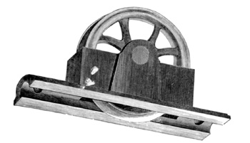 large pulley