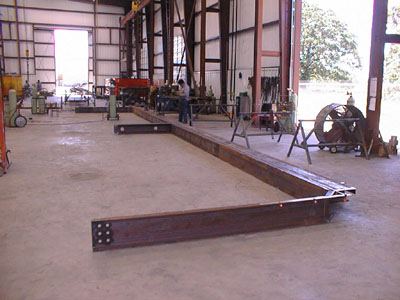 Start of lifting frame